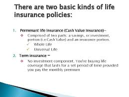 Compare plans to fit your budget! Chapter 35 Life And Health Insurance Life Insurance
