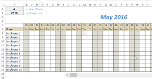 Employee Tracker Excel Template Employee Tracker Excel Template Najbov