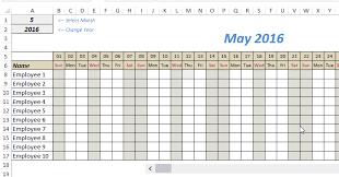 Employee Tracker Excel Template Najbov