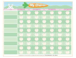 Free Printable Chore Chart For Kids Happiness Is Homemade