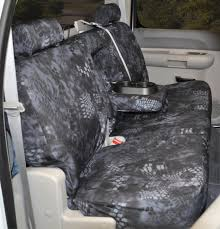 2009 2010 f150 coverking ballistic kryptek typhon camo rear seat covers