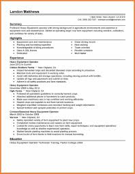 Forklift Operator Resume Heavy Equipment Operator Resume Fungramco 62