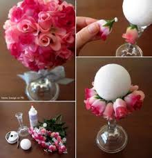 How To Make Paper Flower Bouquet Step By Step How To Make Beautiful Paper Rose Flower Ball Bouquet Step By Step