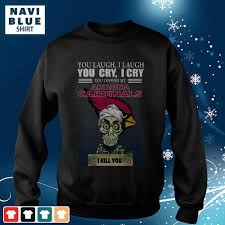 Arizona Cardinals Light Up Sweater Achmed You Laugh I Laugh You Cry I Cry You Offend My Arizona