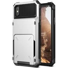Vrs Design Vrs Design Iphone X Damda Folder Wallet Cover Case Metal Black Semi Auto 5 Card Slot