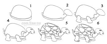 Small Picture How To Draw a Turtle Step by Step Drawing Tutorial with Pictures