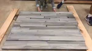 Rustoleum Driftwood Stain Timelapse Driftwood Gray Look On Hard Maple Flooring Youtube