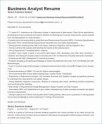 Business Analyst Resume Sample Unique Salesforce Business Analyst Resume Pleasant 60 New Reporting Analyst