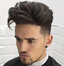 Coiffure D Homme Cheveux Raides Coupe De Guide Des Tendances Pour