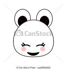 Kawaii Disegno Cartone Animato Orso