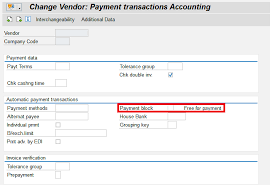 How To Make A Invoice Delectable Payment Block SAP Blogs