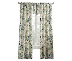 living colors jacobean blue fl curtain panels and valance big lots with regard to colorful remodel