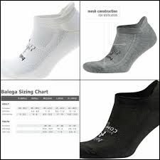 Balega Hidden Comfort Socks Size Chart Balega Hidden Comfort No Show Running Socks For Men And Women 1 Pair Size S Xl