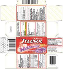 Children S Chewable Tylenol Dosage Chart Childrens Tylenol Tablet Chewable Mcneil Consumer