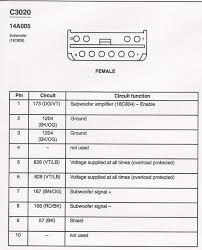 wire diagram for audiophile sub f150online forums i did another search for you and found this diagram which comes straight from the ford service manual it shows 8 wires used