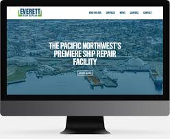 Everett Web Design Everett Ship Repair Brandon Tutmarc