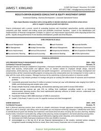 Regular Business Consultant Resume Business Consultant Resume Sample