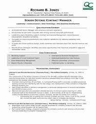 Contract Administrator Resume Sample Sample Resume for Contract Specialist Elegant Contract Administrator 2