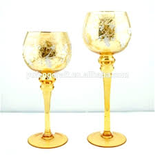 tall tealight candle holders gold glass candle holders gold mercury glass gold mercury glass goblet holiday