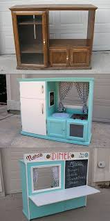 ideas for old furniture. Old Furniture Makeovers. Turn An Cabinet Into A Kid\\u0027s Playkitchen Makeovers Ideas For