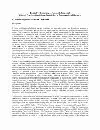 Executive Summary Sample For Proposal Essay Examples Research Proposal Summary Plate Example