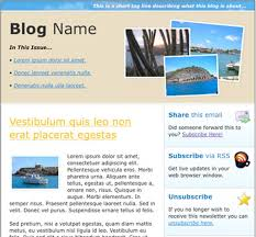Newsletter Format Examples 7 Html Newsletter Templates Free Sample Example Format