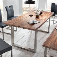 Wohndesign 2017 : Cool Coole Dekoration Tisch Akazie Grau Esstisch ...