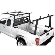 Aluminum Headache Rack Pickup Truck Rack w/Cantilever Extension Back ...