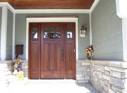 craftsman style front doorsCraftsman Style Doors and Sidelights
