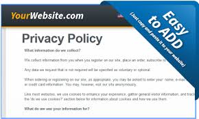 Free Privacy Policy Generator & Template with GDPR - Free Privacy Policy