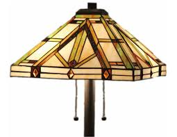 style stained glass table lamp golden mission floor lamps com
