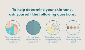 Skin Color Makeup Chart How To Determine Your Skin Tone Before Buying Face Products
