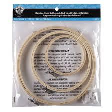 Loops & Threads Bamboo Hoop Set
