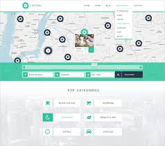 Listing Template 18 Directory Listing Psd Themes Templates Free Premium