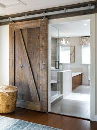rustic sliding barn door bathrooms design elegant how to make interior doors  home designing with for