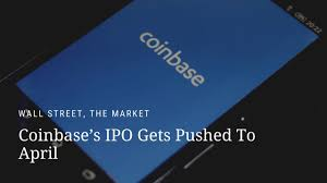 It's no secret that cryptocurrency exchange coinbase has filed for a direct listing (not an initial public offering) to bring shares to the public market. Coinbase S Ipo Gets Pushed To April Pymnts Com
