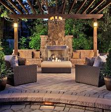 backyard fireplace designs 53 most amazing outdoor