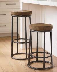 furniture freestanding round wood padded for backless bar stool within wooden stools plans 18
