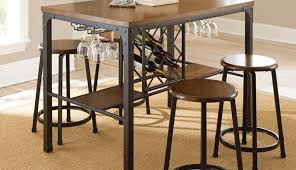 tall sets counter bistro pubdining steve small table style round montibello dining silver set black glass