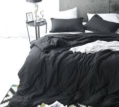 blue duvet cover king black bedding sized with matching shams navy size dark