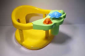 image of baby bathtub ring seat new in box