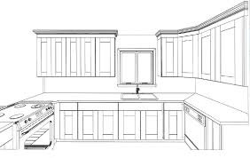 interior design kitchen drawings. Delighful Interior Awesome Ideas Kitchen Cabinet Design Drawing What You On Home  With Interior Drawings