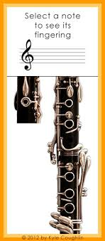 Altissimo Clarinet Chart Altissimo Register Clarinet Fingering Chart Interactive