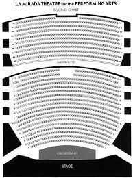 La Mirada Theater Seating Chart La Mirada Theater For The Performing Arts Seating Chart
