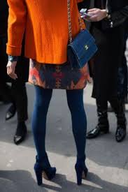 С чем носить фиолетовые колготки | fashion | Purple tights, Tights ...
