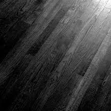 Black Japan stained timber floors.