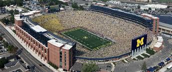 Michigan Stadium Football Stadiums University Of Michigan