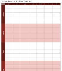Microsoft Excel Calendar 2020 Free Excel Calendar Templates