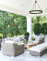 decorating with wicker furniture. Wicker Furniture Outdoor At Home In Decks Patios Covered Patio Vaulted  Ceiling . Decorating With