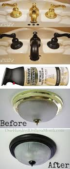 cheap home lighting. pic use rust oleum to paint outdated brass faucets hardware and fixtures easy remodeling projects that will completely transform your home cheap lighting r